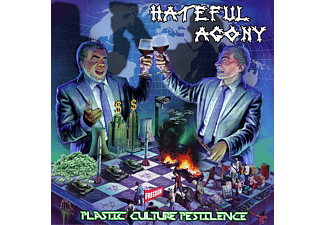 Hateful Agony - Plastic,Culture,Pestilence - (CD)