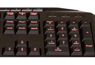 HYRICAN GKB8003 STRIKER, Gaming Tastatur