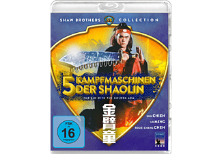 Die 5 Kampfmaschinen der Shaolin - The Kid With The Golden Arm - (Blu-ray)