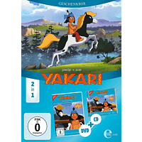 Yakari - (1)Geschenkbox - (CD + DVD Video)
