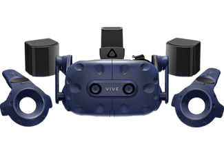 HTC VIVE Pro Full Kit, VR Brille, Blau