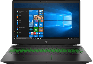 HP PAVILION GAMING 15-CX0304NG, Gaming Notebook mit 15.6 Zoll Display, Core™ i7 Prozessor, 16 GB RAM, 1 TB HDD, 128 GB SSD, GeForce GTX 1060, Schwarz
