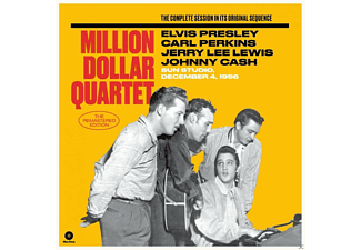 The Million Dollar Quartet - THE MILLION DOLLAR QUARTET - (Vinyl)