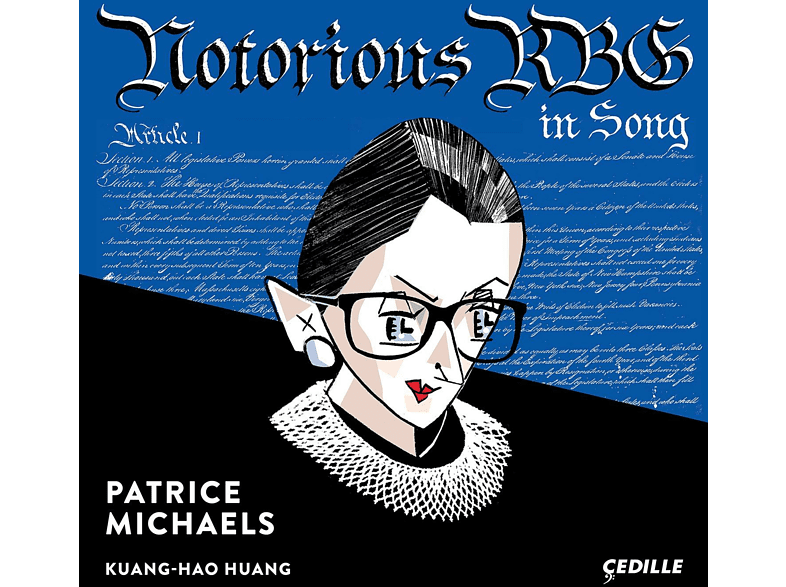 Patrice Michaels, Kuang-hao Huang - Notorious RBG In Song [CD]