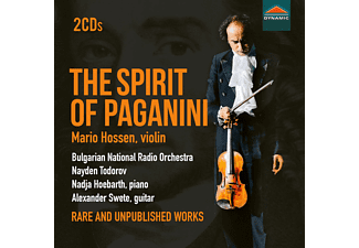 Mario Hossen, Nadja Hoebarth, Alexander Swete, Ludmil Petkov, Bulgarian National Radio Orchestra, Camerata Orphica - The Spirit Of Paganini - (CD)