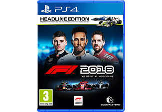 F1 2018 Headline Edition (Day 1 Edition) PlayStation 4