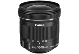 CANON Objectif grand angle EF-S 10-18mm f/4.5-5.6 IS STM Pack nature (9519B017)