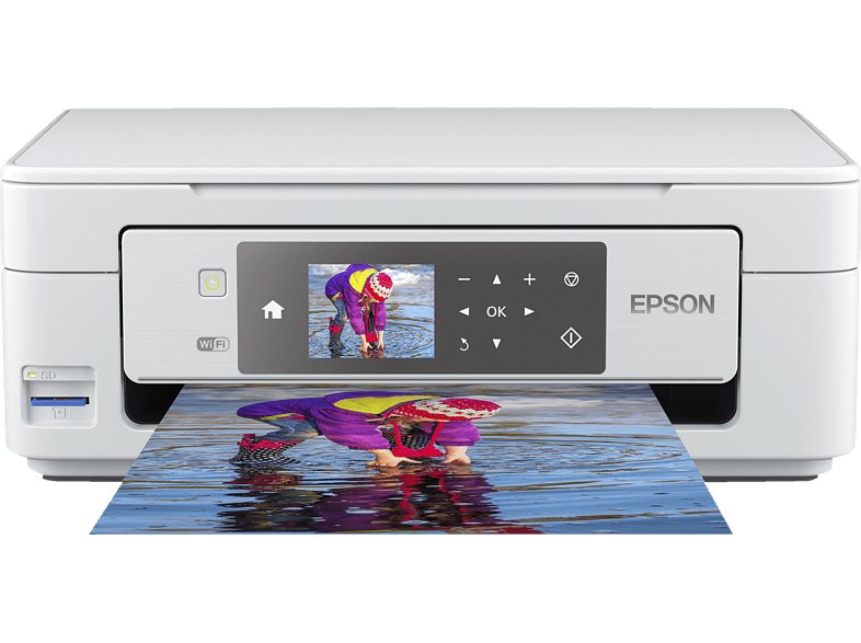 EPSON Epson Expression Home XP-455 - Multifunktionsdrucker (Farbe) Tintenstrahl 3-in-1 Multifunktionsdrucker WLAN