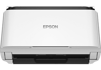EPSON WorkForce DS-410, Dokumentenscanner, Schwarz, Weiß