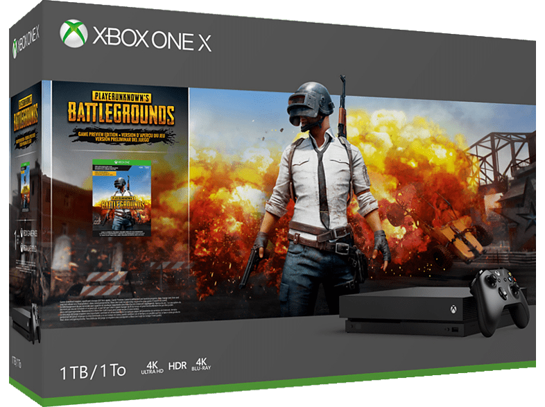 Xbox One X 1TB - Playerunknown's Battlegrounds Bundle