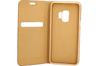 AGM 27228 Relief Bookcover Samsung Galaxy S9 Obermaterial Kunststoff Gold