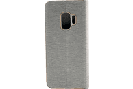 AGM 27227 Relief Bookcover Samsung Galaxy S9 Obermaterial Kunststoff Grau