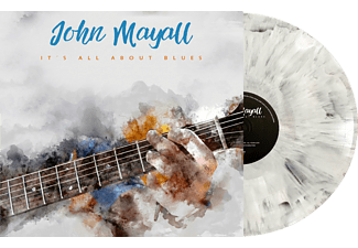 John Mayall - It's All About Blues (Marbled LP) - (Vinyl)