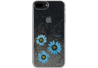 FLAVR iPlate Real Flower Handyhülle, Mehrfarbig, passend für Apple iPhone 6 Plus/7 Plus/8 Plus
