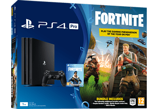 PLAYSTATION PS4 Pro 1 TB Noir + Fortnite Voucher (9723615)