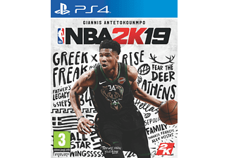 NBA 2K19 NL/FR PS4