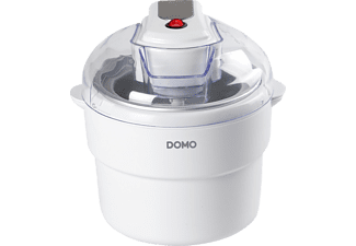 DOMO DO2309I, Eismaschine, 12 Watt, Weiß