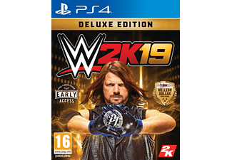 WWE 2K19 Deluxe Edition UK PS4