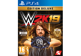 WWE 2K19 Deluxe Edition FR PS4