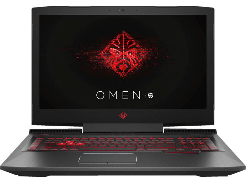 HP  Omen 17-AN136NG, Gaming Notebook, Core™ i7 Prozessor, 16 GB RAM, 1 TB HDD, 256 GB SSD, GeForce® GTX 1070, Schwarz | 00192545969406
