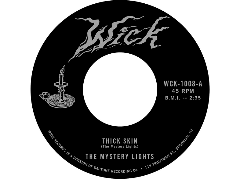 The Mystery Lights - Thick Skin / In The Darkness [Vinyl]