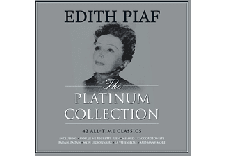 Edith Piaf - Platinum Collection (weisses Vinyl) - (Vinyl)