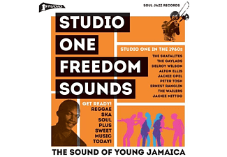 VARIOUS - Studio One Freedom Sounds (Studio One In The 1960s) - (LP + Download)
