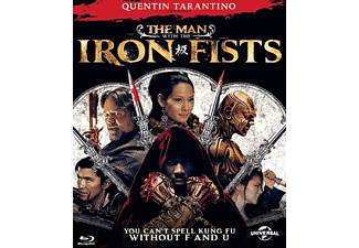 Man with Iron Fist Blu-ray
