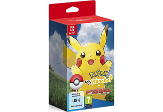 Pokémon: Let's Go, Pikachu + Poké Ball Plus Switch