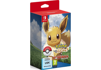 Pokémon: Let's Go, Eevee! + Poké Ball Plus Switch