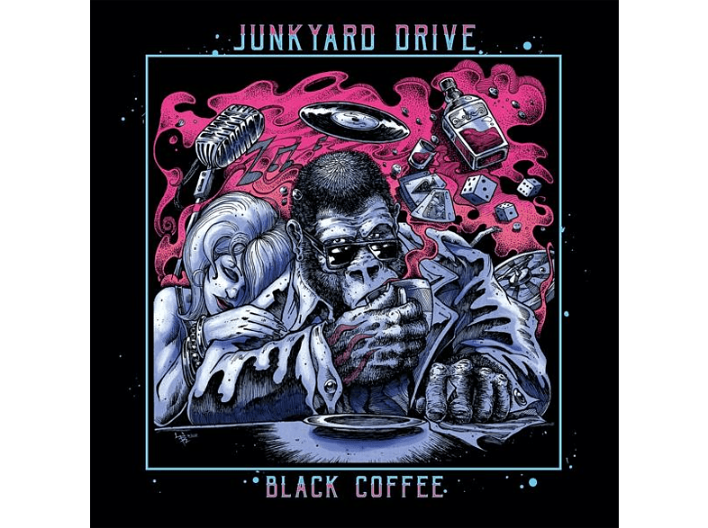 Junkyard Drive - BLACK COFFEE [Vinyl]