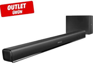 PHILIPS HTL1193B/98 5.0 Kanal Soundbar Outlet