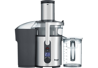 SAGE SJE520BSS4CEU1 The Nutri Juicer Plus, Entsafter, Silber/Transparent