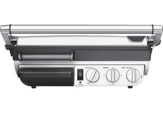 SAGE SGR800BSS4EEU1 The Smart Grill & Griddle, Kontaktgrill, 2400 Watt