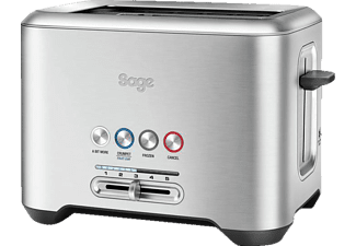 SAGE STA720BSS2EEU1 The Bit More, Toaster, 1000 Watt