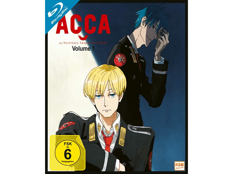 ACCA - 13 Inspection Dept. - Volume 1 - Episode 1-4 [Blu-ray]