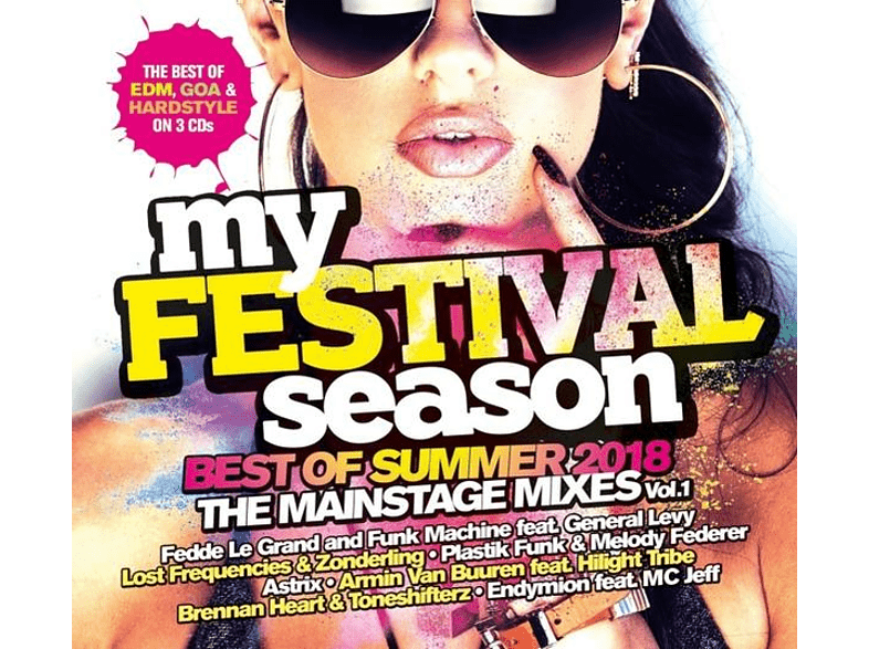 VARIOUS - My Festival Season-Best Of Summer 2018 [CD]