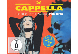 Capella - U Got 2 Let The Music-The Hits - (CD + DVD Video)