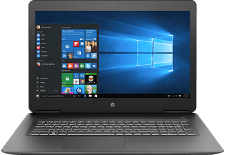 HP Pavilion 17-ab435ng, Gaming Notebook mit 17.3 Zoll Display, Core™ i7 Prozessor, 16 GB RAM, 1 TB HDD, 128 GB SSD, GeForce® GTX 1050 Ti, Schwarz