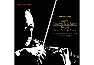 New Symphony Orchestra Of London - Bruch - Concerto In G Minor / Mozart - Concerto In D Major - (Vinyl)