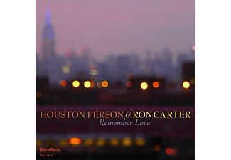 Houston Person, Ron Carter - Remember Love - (CD)