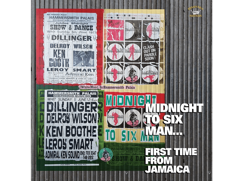 VARIOUS - Midnight To Six Man:First Time From Jamaica [CD]