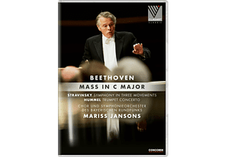 - Beethoven Mass in C-Major - (DVD)