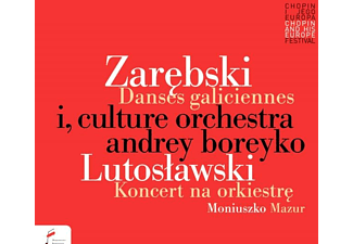 Culture Orchestra - Danses Galiciennes & Lutoslawski.Concerto For Orc - (CD)