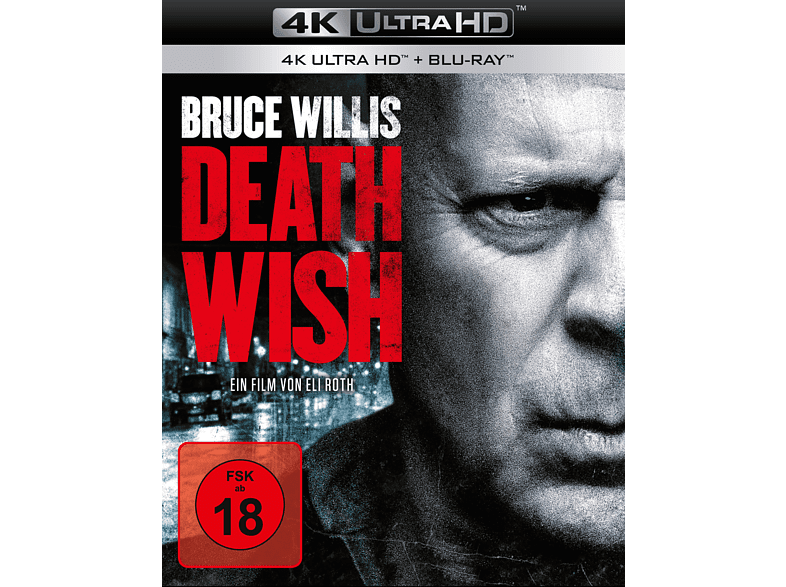 Death Wish [4K Ultra HD Blu-ray + Blu-ray]