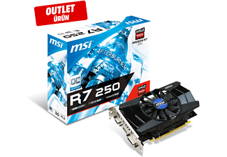MSI R7 250 2GD3 OCV1 R7250 2GB DDR3 128b DX12 PCIE 3.0 x16 (1xVGA 1xDVI 1xHDMI) Outlet