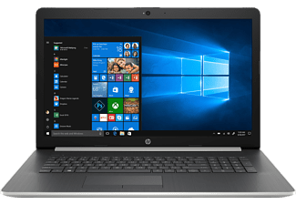 HP 17-BY0316NG, Notebook, Core™ i7 Prozessor, 8 GB RAM, 1 TB HDD, 256 GB SSD, Radeon 530, Silber