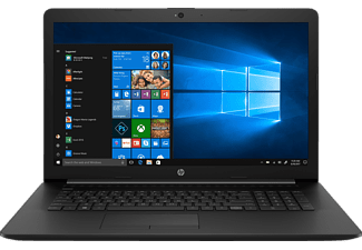 HP 17-BY0309NG, Notebook mit 17.3 Zoll Display, Core™ i3 Prozessor, 8 GB RAM, 256 GB SSD, Radeon 520, Schwarz