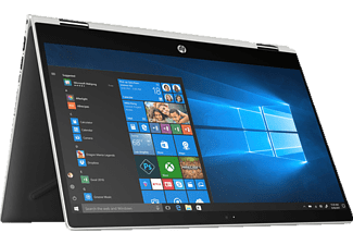 HP 14-cd0302ng, Convertible mit 14 Zoll Display, Core™ i3 Prozessor, 8 GB RAM, 256 GB SSD, NVIDIA GeForce MX130, Silber