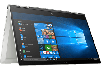HP ENVY X360 15-CN0305NG, Convertible mit 15.6 Zoll Display, Intel® Core™ i7 der achten Generation Prozessor, 16 GB RAM, 1 TB HDD, 256 GB SSD, NVIDIA GeForce MX150, Silber